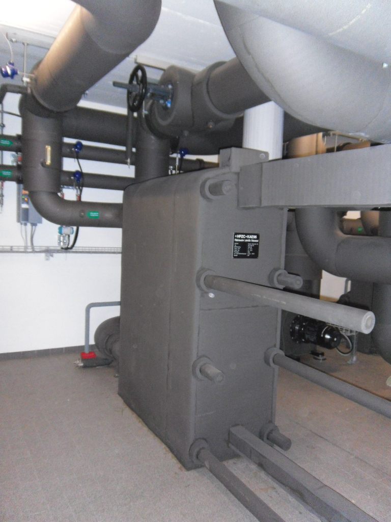 The geothermal Heatsystems at ETH Zurich.